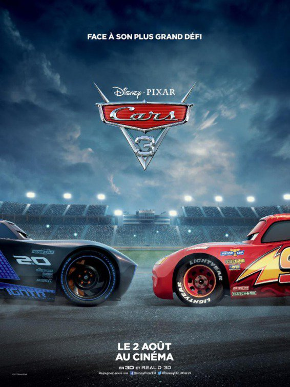 (VIP) Cars 3 (P)