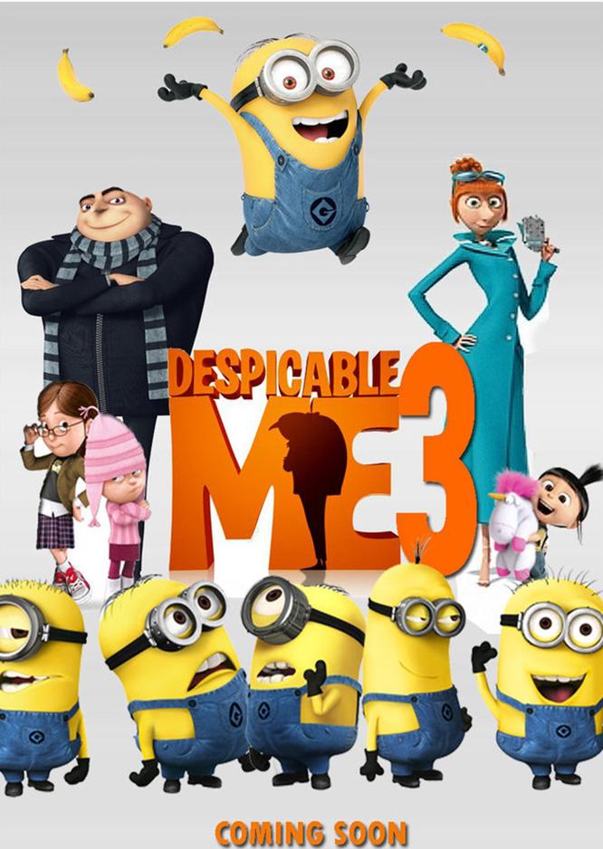 (VIP) Kẻ Cắp Mặt Trăng 3 - Despicable Me 3 (P)