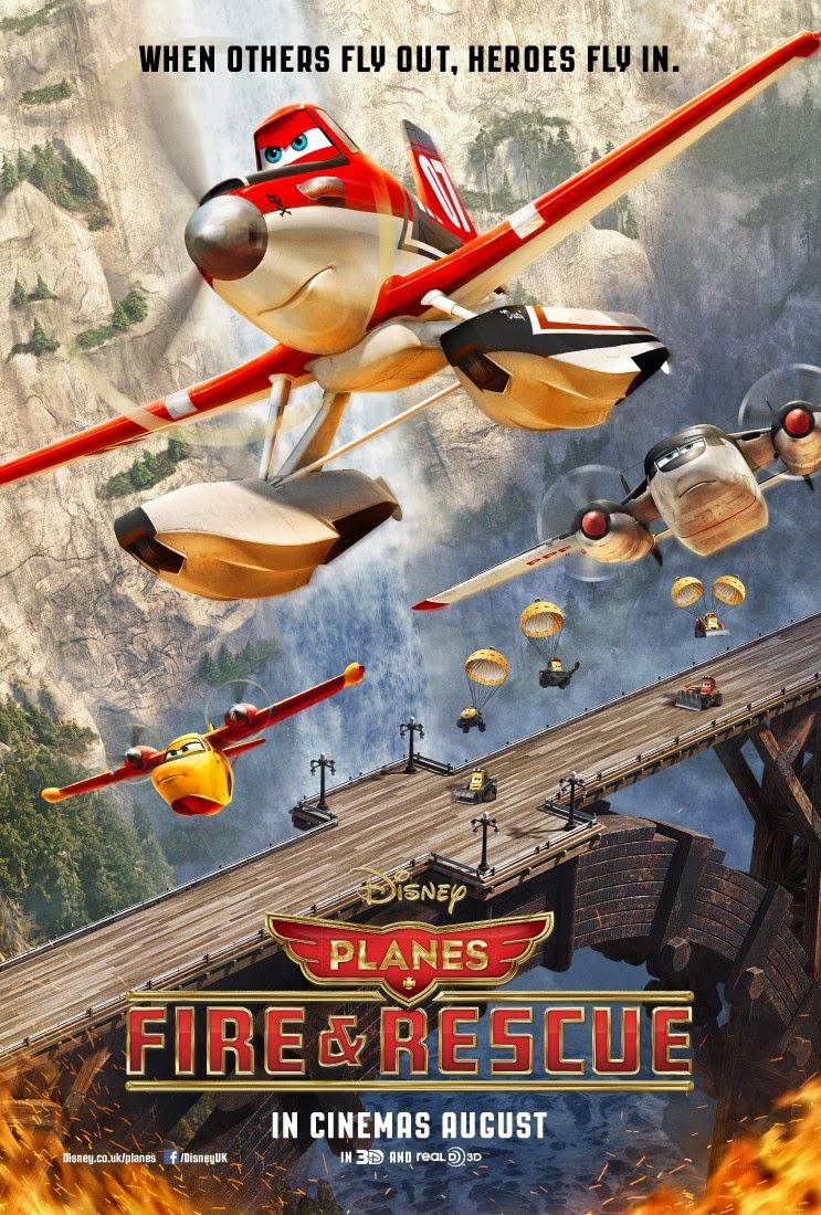 (R2) Planes Fire & Rescue / Anh Hùng Và Biển Lửa (P)