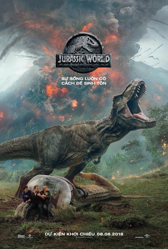 JURASSIC WORLD / Thế Giới Khủng Long: Vương Quốc Sụp Đổ