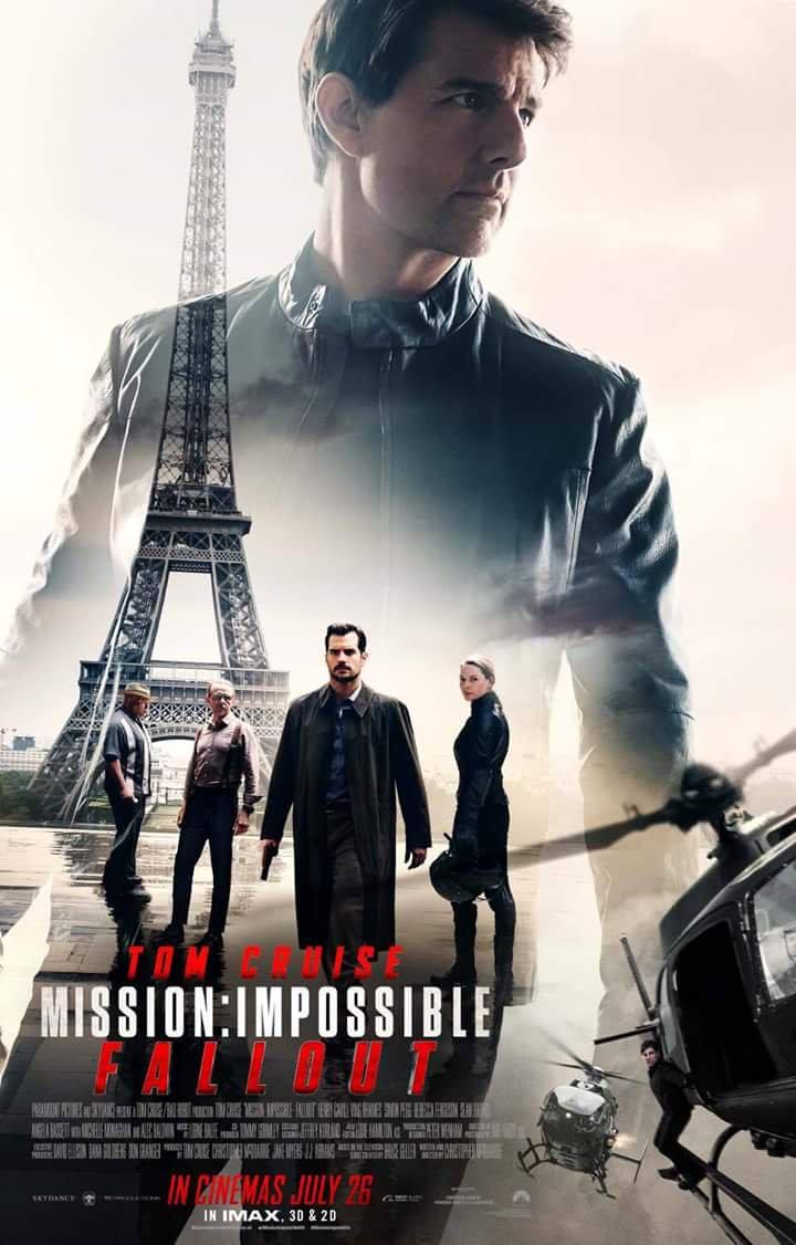 MISSION: IMPOSSIBLE / NHIỆM VỤ BẤT KHẢ THI: SỤP ĐỔ