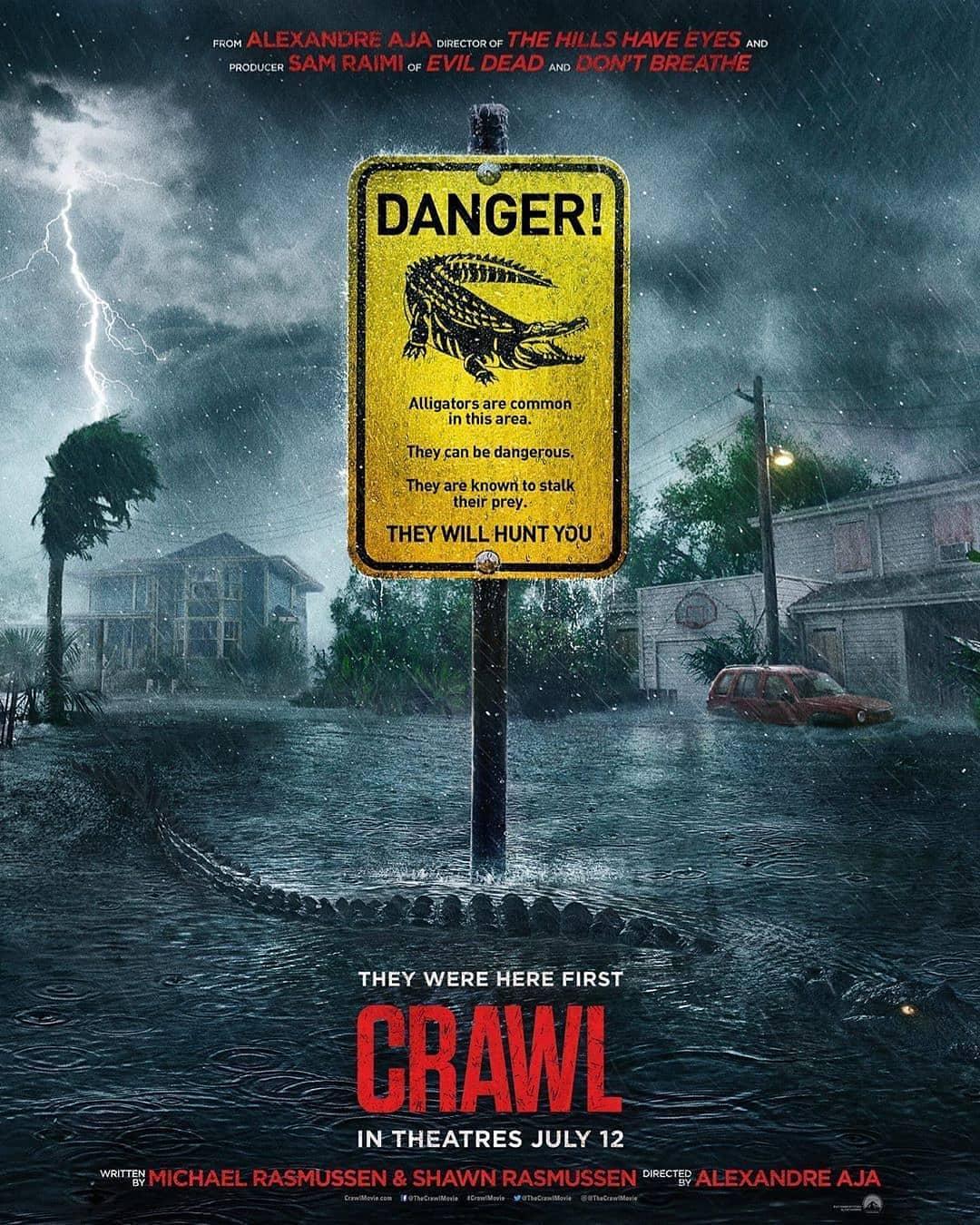 CRAWL / ĐỊA ĐẠO CÁ SẤU TỬ THẦN
