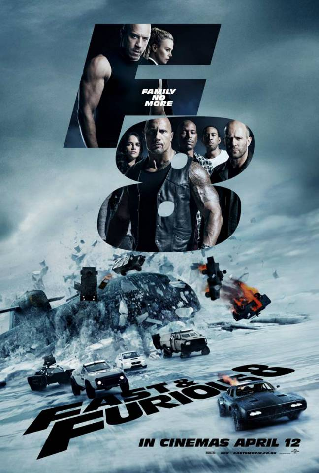 (R2) FAST AND FURIOUS 8 (C16)