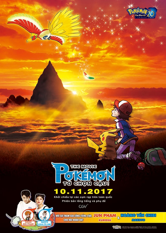 (VIP) The Movie Pokémon: Tớ Chọn Cậu