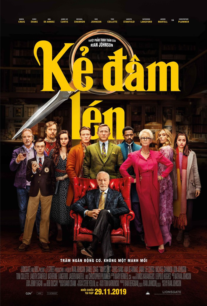 KNIVES OUT / KẺ ĐÂM LÉN