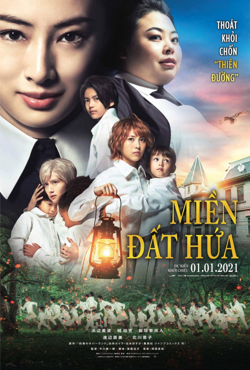 THE PROMISED NEVERLAND / MIỀN ĐẤT HỨA