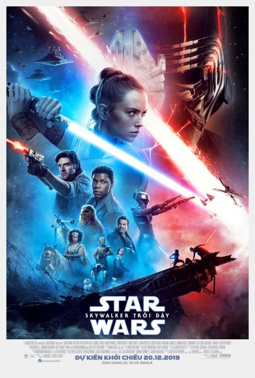 STAR WARS IX: SKYWALKER TRỖI DẬY